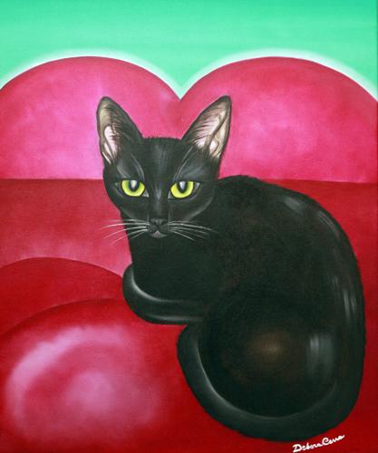 Black-cat-formato-60x50-olio-su-telanumero-1