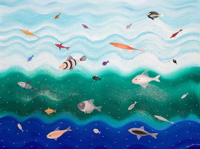 pesci2-acrilicosutela-50x70