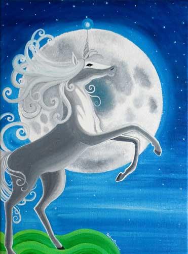 unicorno-acrilicosutela-40x30-venduto